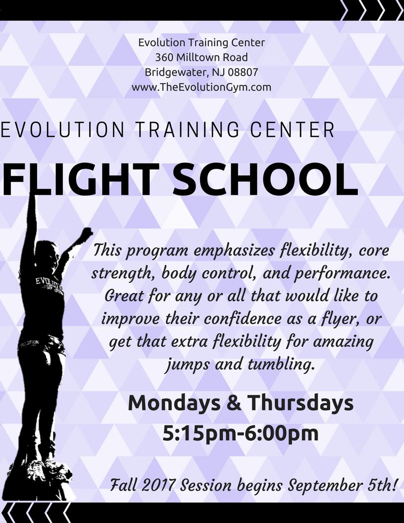 2017-2018 Flight School