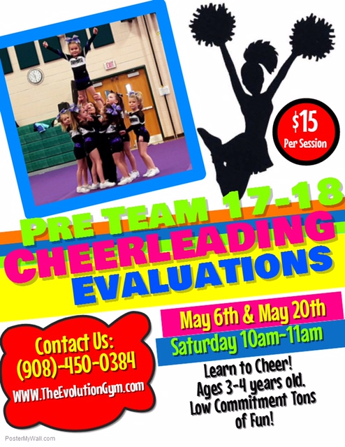 Pre-tiny Tryout Flyer