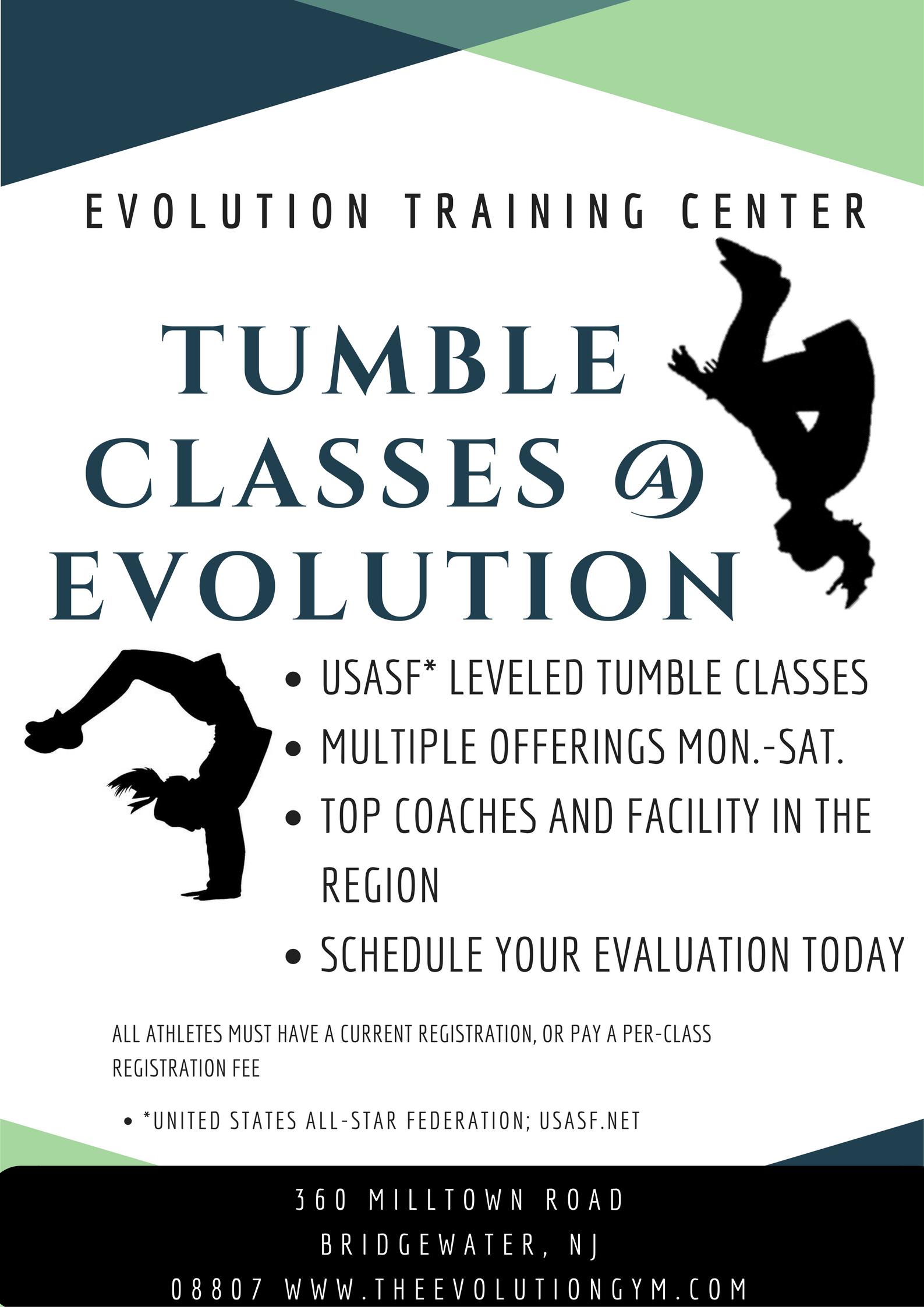 tumble classes